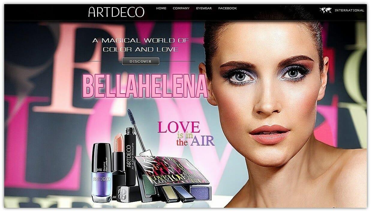 LOVE IS IN THE AIR | Artdeco BellaHelena Oulu