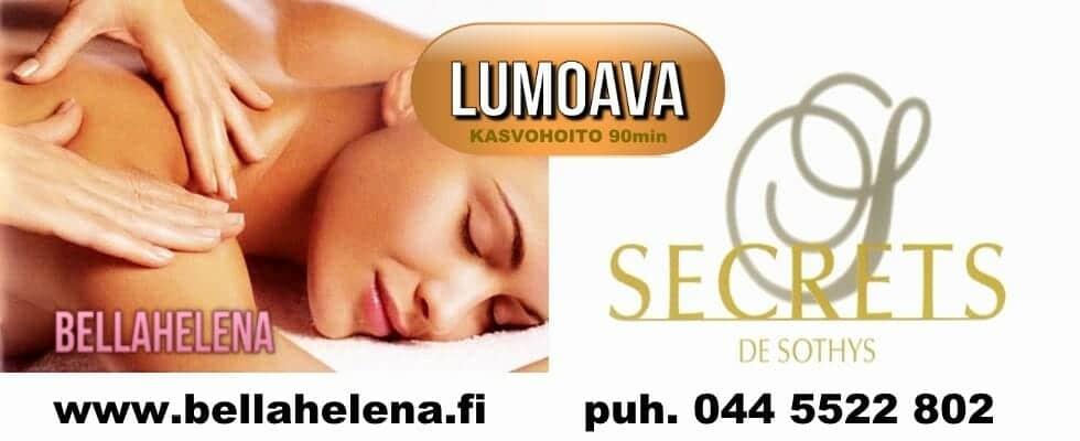 Kauneushoitola BellaHelena Oulu Finland Sothys de Secrets Kaleva Paraati 980x400 logolla Helena & Paris Oy Helena ja Markku Tauriainen