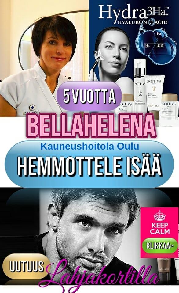 BellaHelena Isänpäivä Interstitiaali Uusi 2015 - Lahjakortti Isälle Miesten Kasvohoitoon