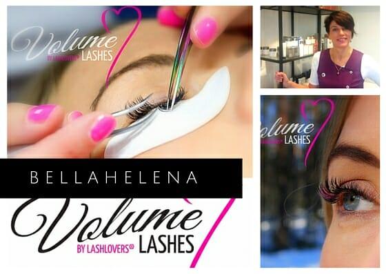 Kauneushoitola BellaHelena LashLovers Volyme PostCard 2016 - Lashlovers Volyymiripset BellaHelenasta
