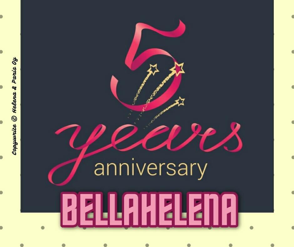 Kauneushoitola BellaHelena 5 years anniversary 2017 Oulu Finland