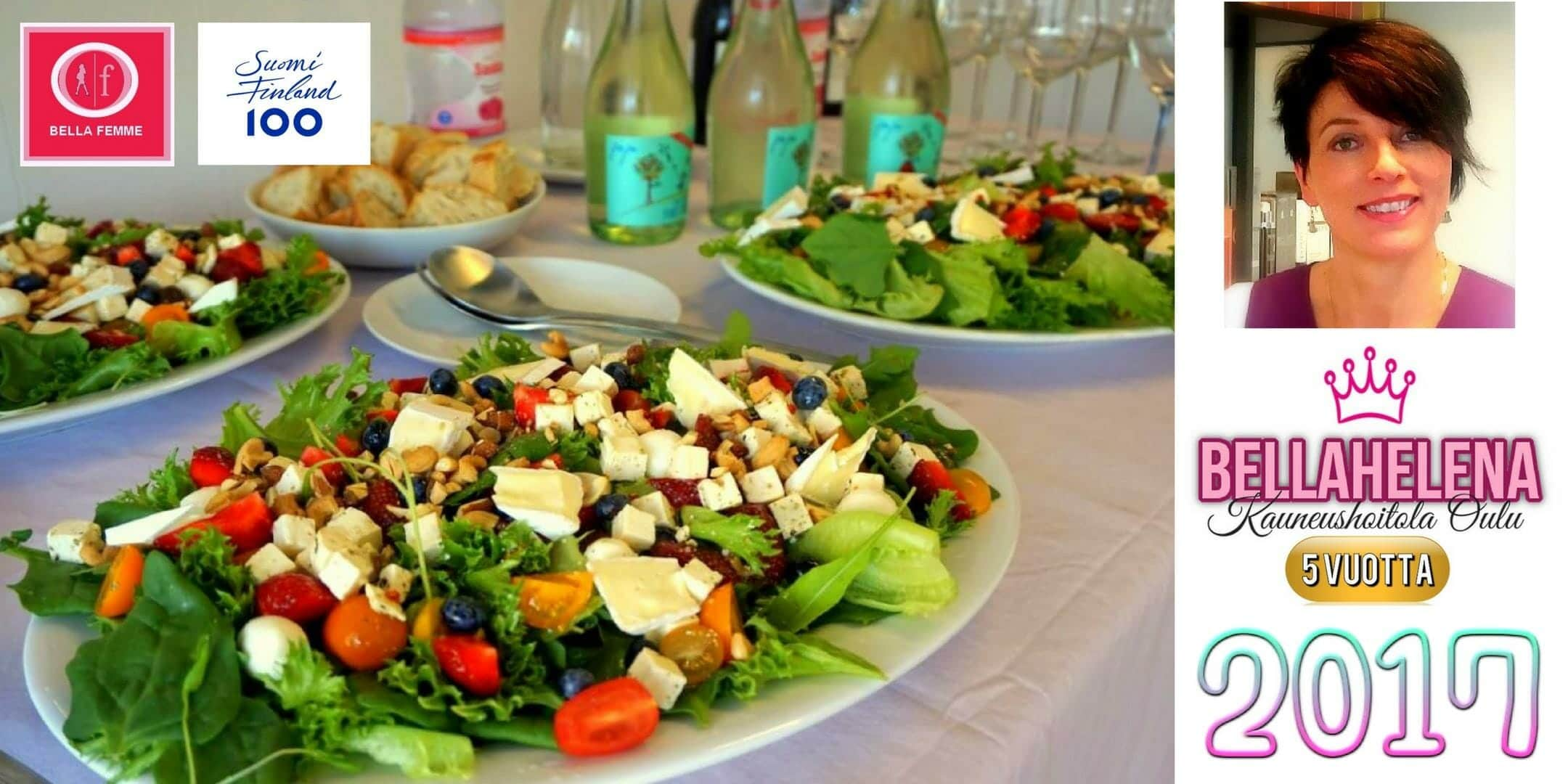 BellaFemme Event Photo Salads 2160 x 1080 jpg Kauneushoitola BellaHelena Oulu - Kauneushoitola BellaHelena 5 Vuotta Kauneudenhoitoa Oulussa