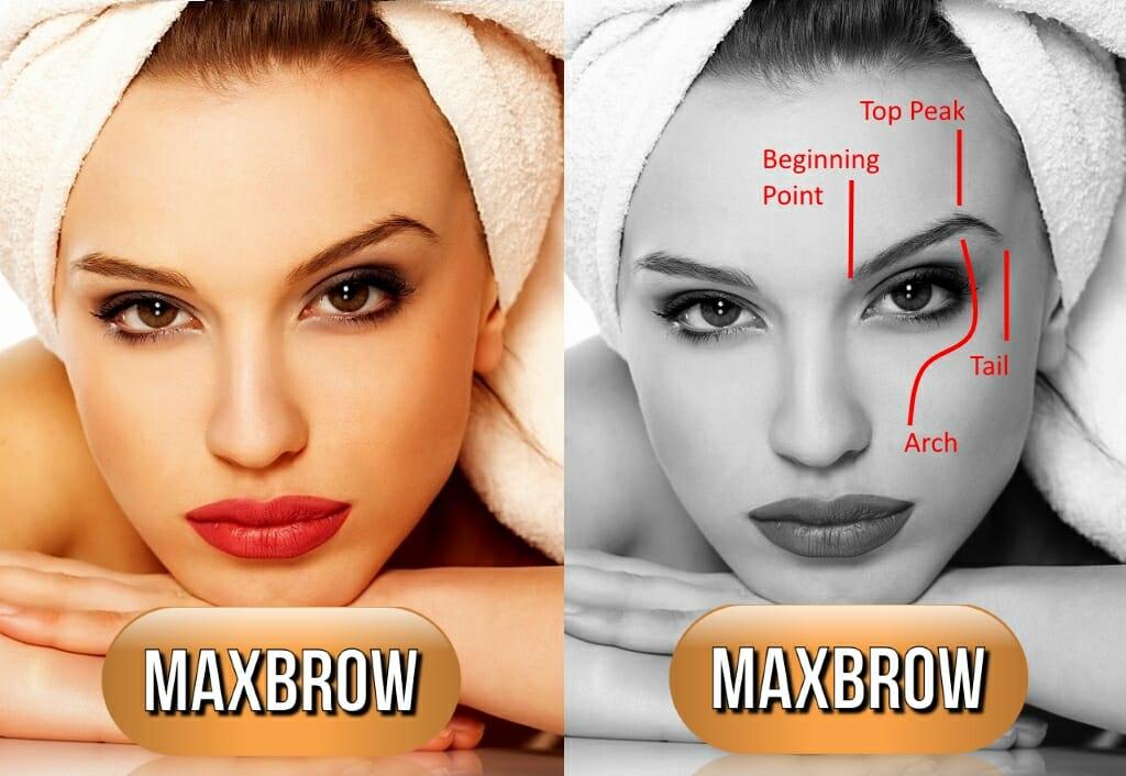 MaxBrow 3D Kulmat Woman Technical Kauneushoitola BellaHelena Oulu - Jäätävät Kestokulmat BellaHelenasta MaxBrows 3D Embroidery Microblading