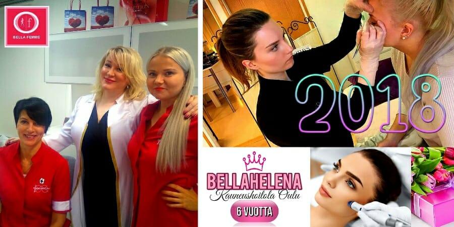 BellaFemme Event Photo 03 Kauneushoitola BellaHelena Oulu 6 Vuotta 02.11.2018 Suomi Finland