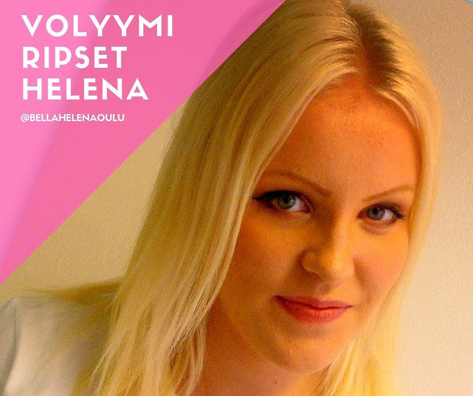 Kauneushoitola BellaHelena ripsiteknikko Helena Koivukangas LashLovers ripsipidennykset klassiset ja volyymit Oulu Finland
