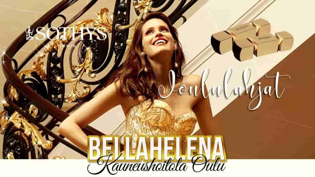 BellaHelena Joululahjat Kauneushoitola BellaHelena Oulu Logo Joululahjaideat Blog Post Image 1080x608px