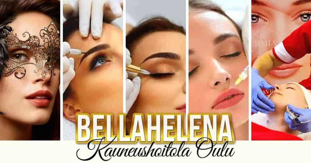 Kauneushoitola BellaHelena 8 vuotta Pe 30.09.2020 Synttäritarjouksia -20%