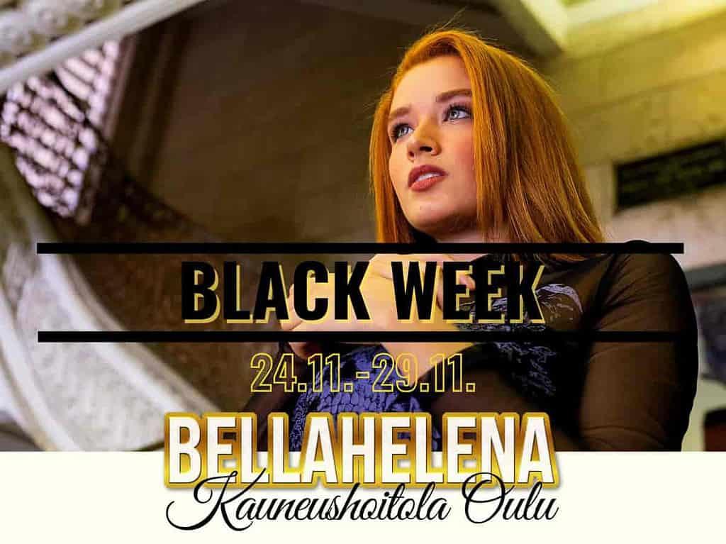 Black Friday Oulu 2020 Black Week Kauneushoitola BellaHelena