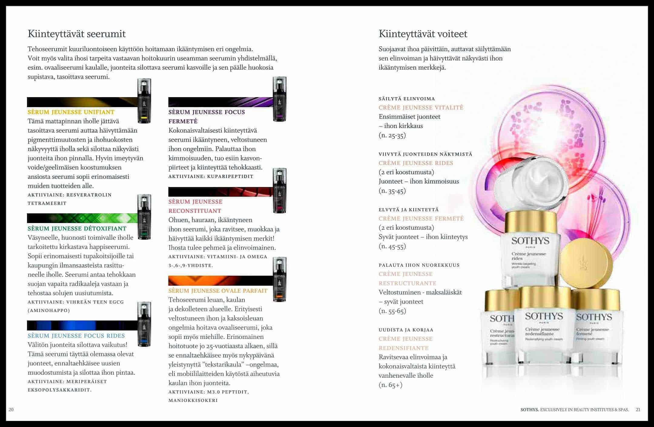 SOTHYS βB3 TRI COMPLEX™ Esite sivu 20 Kauneushoitola BellaHelena Oulu Finland