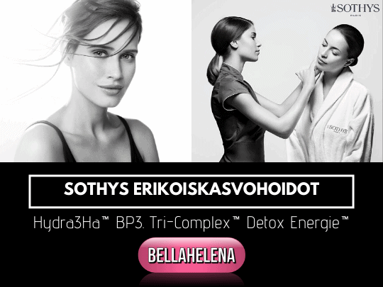 Sothys Erikoiskasvohoidot Hydra3Ha Tri-Complex Detox Energie Kauneushoitola BellaHelena Oulu miselligeeli lahjaksi
