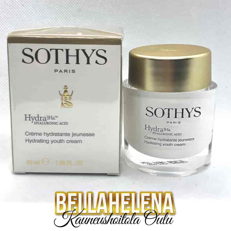 Joululahjat Sothys Hydra3HA kosteuttava voide 81,10€ Créme Hydratante Jeunesse Kauneushoitola BellaHelena Oulu